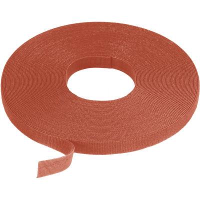 """VELCRO® Brand One-Wrap® Hook & Loop Tape Fasteners Brown 3/8"""" x 15'"""