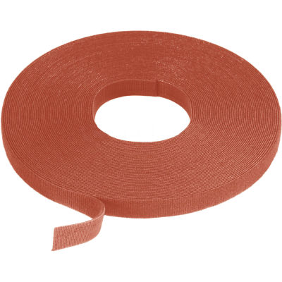 "VELCRO® Brand One-Wrap® Hook & Loop Tape Fasteners Brown 3/8"" x 75'"