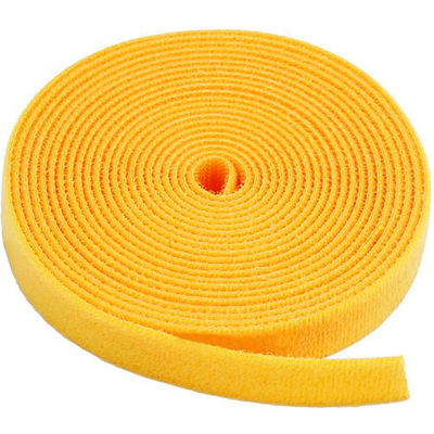 "VELCRO® Brand One-Wrap® Hook & Loop Tape Fasteners Yellow 1-1/2"" x 75'"