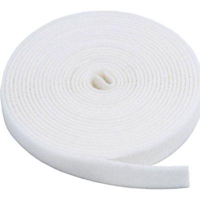 "VELCRO® Brand One-Wrap® Hook & Loop Tape Fasteners White 1/2"" x 15'"