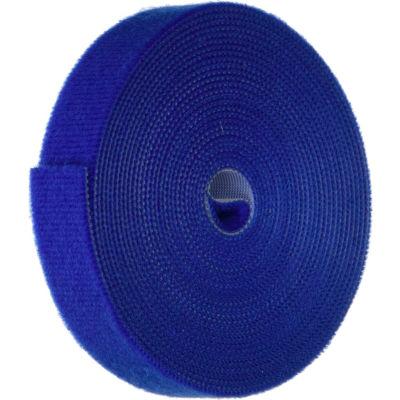 """VELCRO® Brand One-Wrap® Hook & Loop Tape Fasteners Blue 3/8"""" x 75'"""