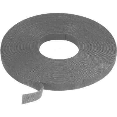 "VELCRO® Brand One-Wrap® Hook & Loop Tape Fasteners Light Gray 3/8"" x 75'"