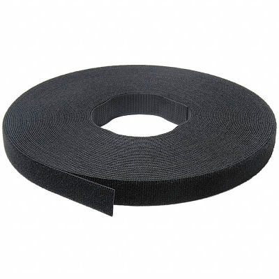 "VELCRO® Brand One-Wrap® Hook & Loop Tape Fasteners Black 5/8"" x 75'"
