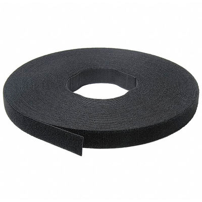 "VELCRO® Brand One-Wrap® Hook & Loop Tape Fasteners Black 1-1/2"" x 75'"