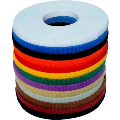 """VELCRO® Brand One-Wrap® Hook & Loop Tape Fasteners Beige 5/8"""" x 75'"""