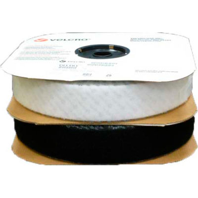 "VELCRO® Brand White Loop With Acrylic Adhesive 1"" x 75'"