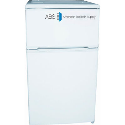 American Biotech Supply Standard Dual Temp Refrigerator/Freezer ABT-RFC-3M, 3.0 Cu. Ft.