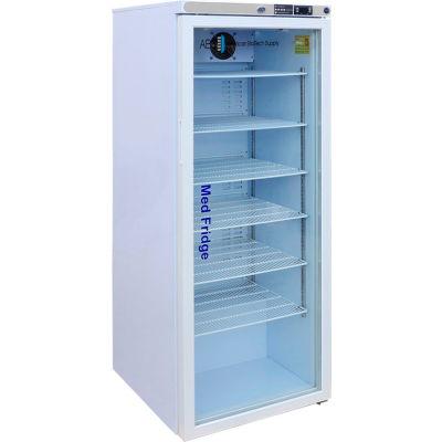 ABS Premier Pharmacy/Vaccine Compact Refrigerator, Glass Door, 10.5 Cu.Ft.