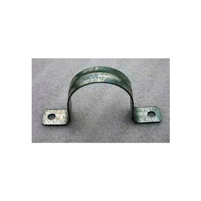 Galvanized U-Bracket For Surface Mounting - 2 Pack