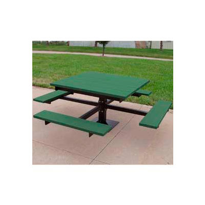 Frog Furnishings Recycled Plastic 4 ft. T-Table, Green