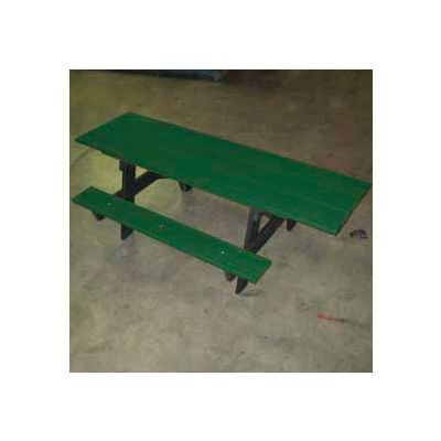 Frog Furnishings Recycled Plastic 6 ft. A-Frame Table, ADA, Green