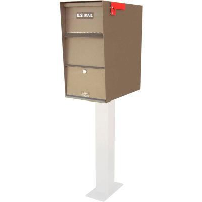 "Jayco Super Letter Locker - Front Access 12-1/16""W x 22""D x 24""H, Black"