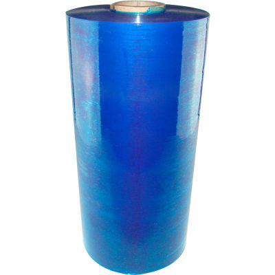 "Machine Length Stretch Wrap Film, Cast, 20"" x 5000', 80 Gauge, Blue Tint"