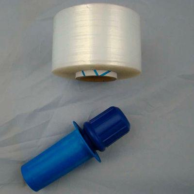 "Goodwrappers® PRD-318M Banding Film, 1000' x 3"" x 80 Gauge w/ Extended Core Handle - Pkg Qty 18"