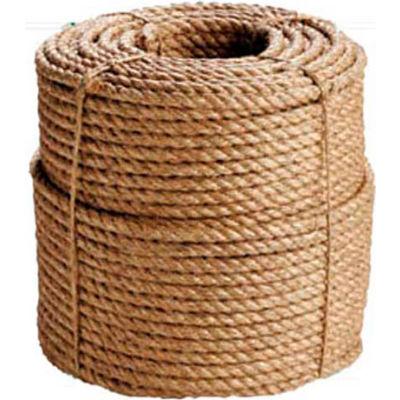 "BOEN Manila 3-Strand Rope BR-2040 - 1"" x 100' - 27 Lb. - Camel"