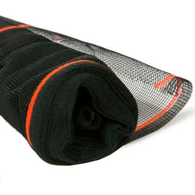 BOEN SN-20016 Fire Resistant Safety Netting, 8.6 Ft. x 150 Ft., Black, 1 Roll