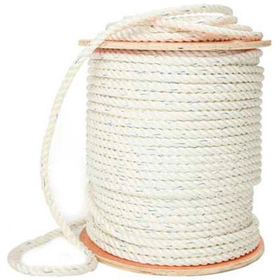 "BOEN Poly-Combo 3-Strand Safety Rope SR-34300 - 3/4"" x 300' - 40 Lb. - White"