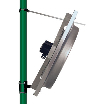 """J&D Bracket 3 to 3-1/2"""" Column Mount for Panel Fan with Hardware"""