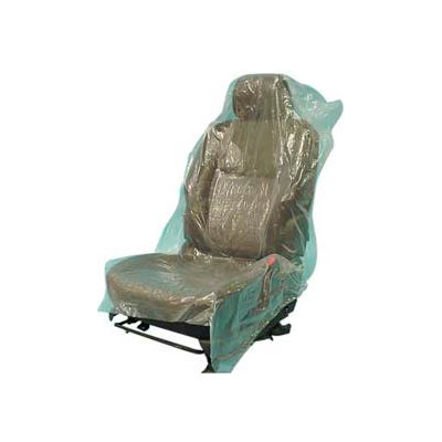 JohnDow Mechanics Plastic Seat Covers Roll, Green - 500 Covers/Roll - SC-5H
