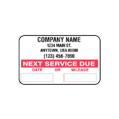 John Dow Adhesive Labels - 1000 Labels/Roll - SC-1000