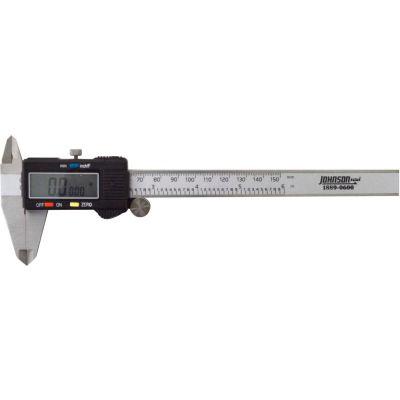 Johnson Level 1889-0600 0-6''/150MM Fractional Stainless Steel Digital Caliper
