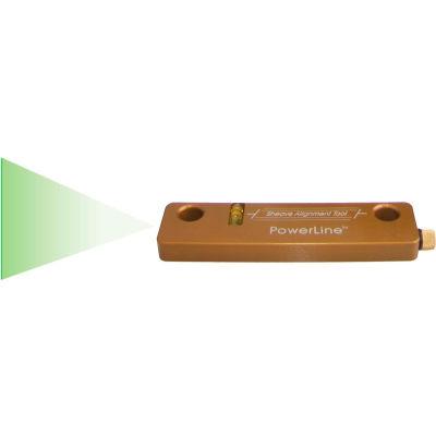 Johnson Level, Green Magnetic Sheave Alignment, 40-6210