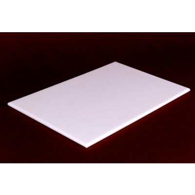 Reversible White Poly Cutting Board 12X12
