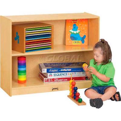 "Jonti-Craft® Rectangular Shelved Module, 36""W x 15""D x 29""H, Birch Plywood"