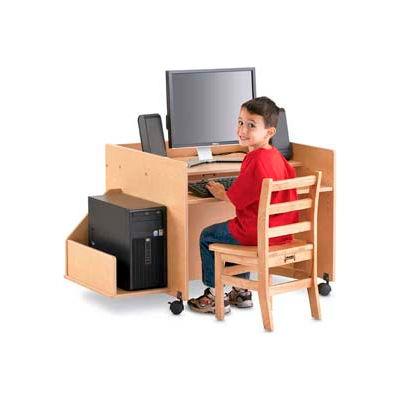 Jonti-Craft® MapleWave™ KYDZ CPU Booth