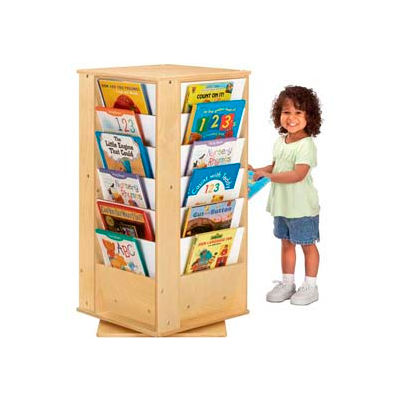 Jonti-Craft® Revolving Literacy Tower - Small