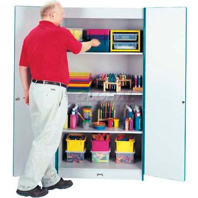 Jonti-Craft® RAINBOW ACCENTS®Deluxe Classroom Closet Cabinet - Redjnc
