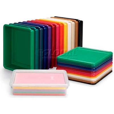 """Jonti-Craft 8036 Paper-Tray,13-1/2""""L x 11""""W x 3""""H, Green - Pkg Qty 5"""
