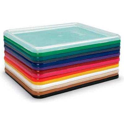 """Jonti-Craft 8037 Lid For Paper-Tray & Tub,13-1/2""""L x 11""""W x 1/4""""H, Green - Pkg Qty 5"""