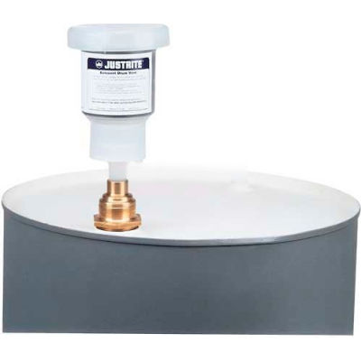 """Justrite® 28207 AeroVent™ Drum Vent for 3/4"""" Bung with Filter & an Extra Filter"""