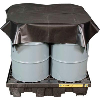 Justrite® Waterproof Maintenance Tarp 28438 - 12'L x 10'W