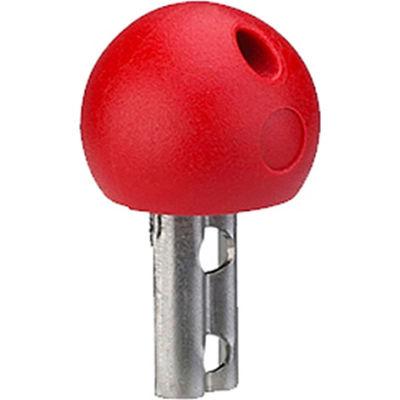 14mm Ball Security Key - Red - J.W. Winco EN5337.8-CSF