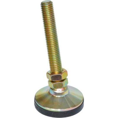 "J.W. Winco 16N2SNS SNSM-2.50-M16-2-ST ""Snap-Lock"" Non-Skid Leveling Mounts Steel, Threaded Stud"
