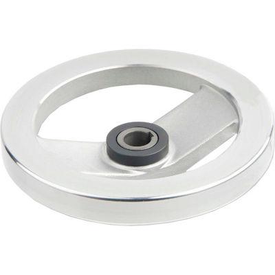 "JW Winco - 18KE81/ADR - Safety Clutch Handwheel - Needle Bearing w/o Handle 7.87""D-18mm Bore-Keyway"