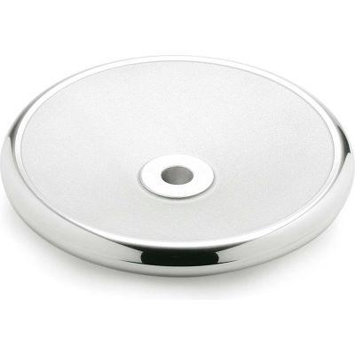 "JW Winco - 26MF02 - Aluminum Solid Disk Handwheel - 12.40"" Dia x 26mm Bore"