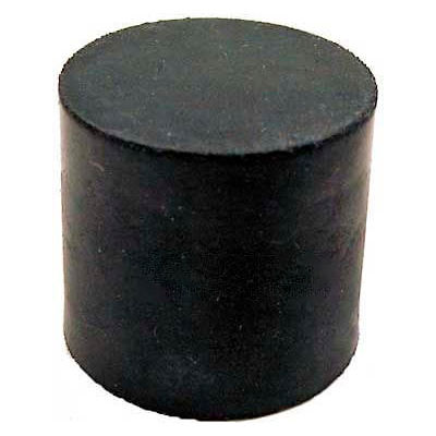 """Vibration/Shock Absorption Mount, Tapped Hole, 1.50"""" Dia, 1.00""""H, 3/8-16 Thread"""