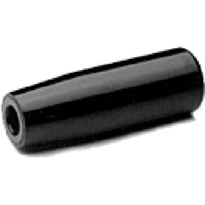 J.W. Winco EN519 Phenolic Cylindrical Handle W/Molded-In Thread 18mm Diameter 40mm Length 1/4-20