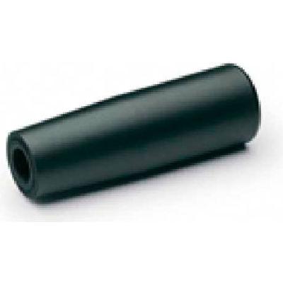 J.W. Winco EN519.6 Elastomer Cylindrical Handle W/Molded-In Thread 28.5mm Dia. 90mm L M12x1.75