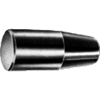 J.W. Winco MC Phenolic Cylindrical Handle W/Molded-In Thread 28mm Diameter 85mm Length M8x1.25
