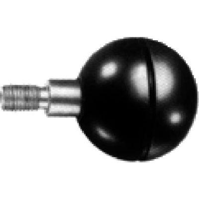 J.W. Winco PB/GE Phenolic Revolving Ball Knob W/Short Shoulder 41mm Diameter 51mm Length M10x1.5