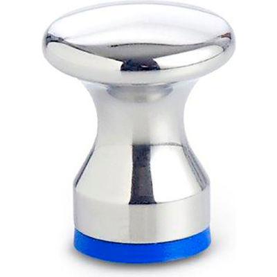 Hygenic Design Waist Shaped Knob - Tapped - M5 - Polished - J.W. Winco 75.6-20-M5-D-PL