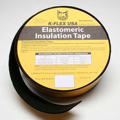 """K-Flex Elastomeric Foam Tape, 1/8"""" Thick X 2"""" Wide X 30' Per Roll"""