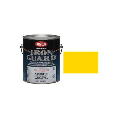 Krylon Industrial Iron Guard Acrylic Enamel Safety Yellow (Osha) - K11029101 - Pkg Qty 4