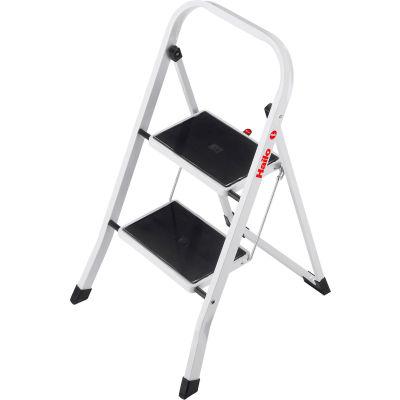 Hailo K20 2 Step Steel Step Stool - 4396-901