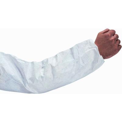 "Tyvek® Sleeves, White, 18"" x 9"", 100 Pair/Case"