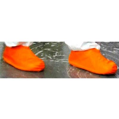 Heavy Duty Latex Boot/Shoe Covers, Orange, XL, 25 Pairs/Case